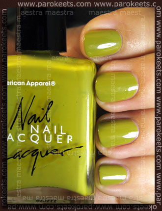 Swatch: American Apparel - Mac Arthur Park