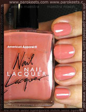 Swatch: American Apparel - Rose Bowl
