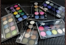 Beauty UK eye shadow collection (eyeshadow palettes)