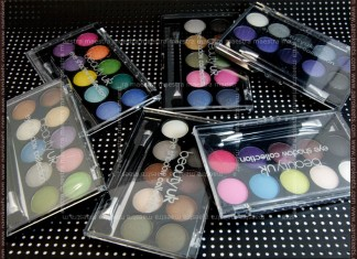 Beauty UK eye shadow collection (eyeshadow palettes)