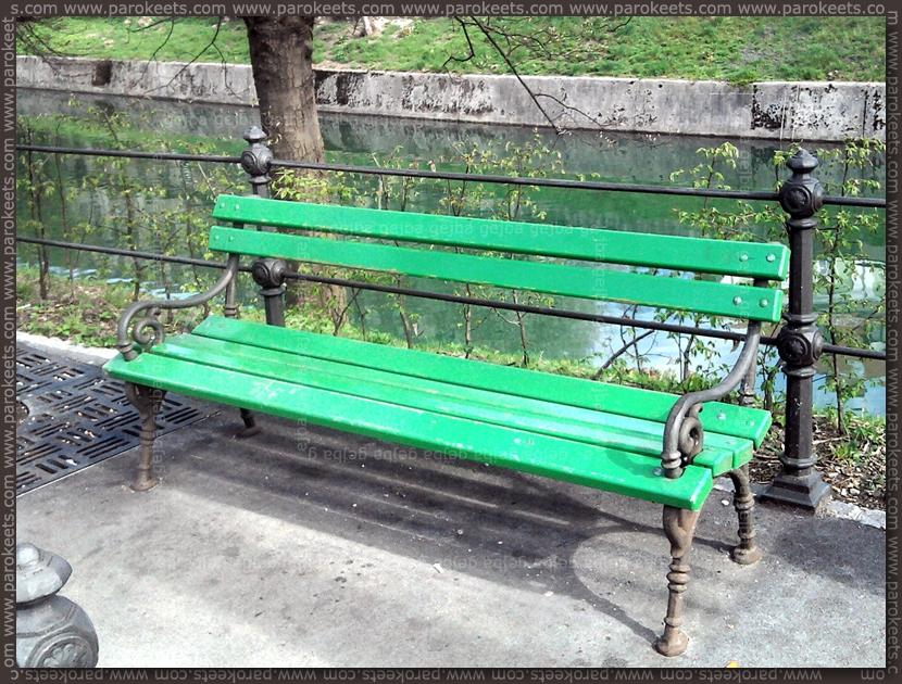 Bench In Ljubljana Slovenia