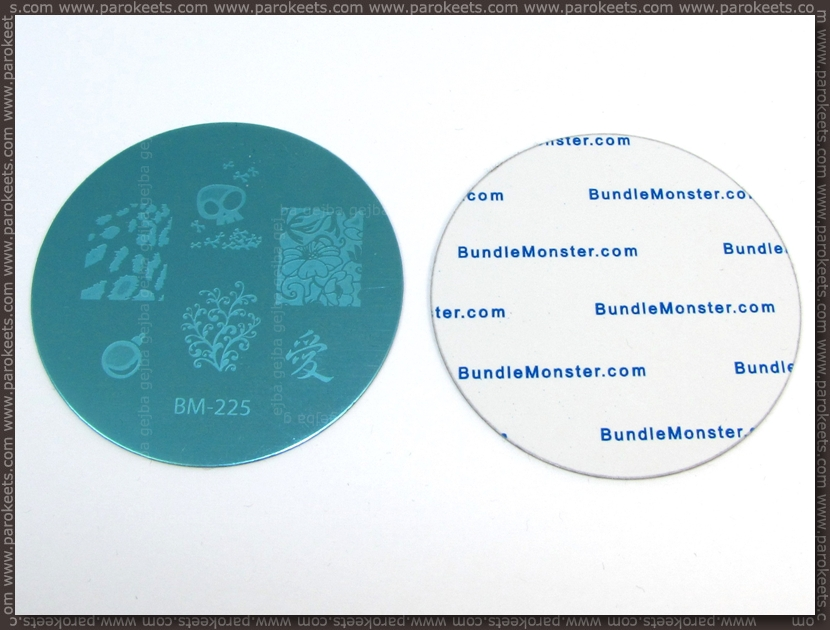 Bundle Monster Image Plate - frontend, backend
