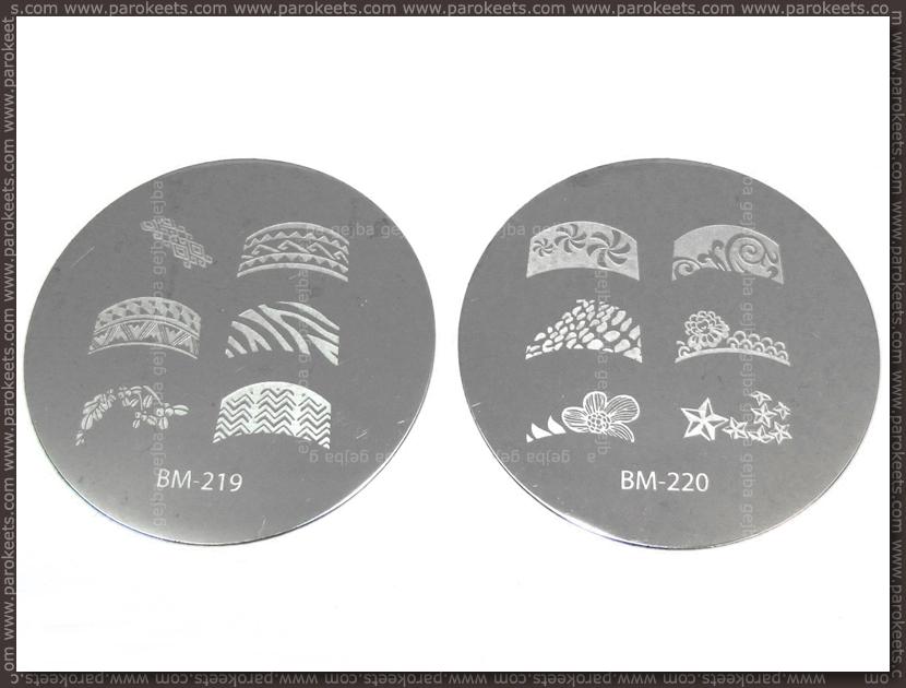 Bundle Monster Image Plate - 219, 220