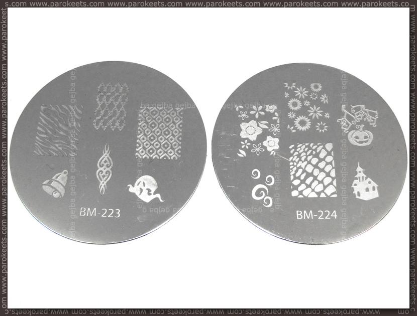 Bundle Monste Image Plate - 223, 224