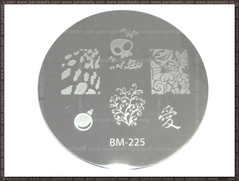 Bundle Monste Image Plate - 225