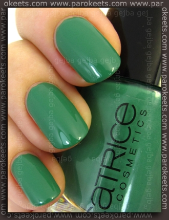 Catrice Run Forest Run new version swatch