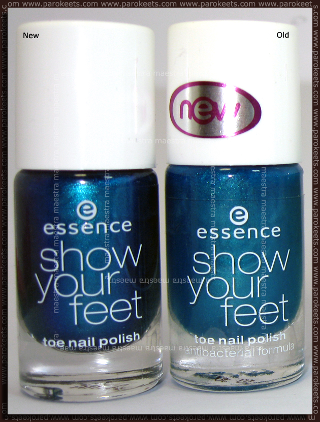 Swatch: Essence Show Your Feet - Carribean Sea