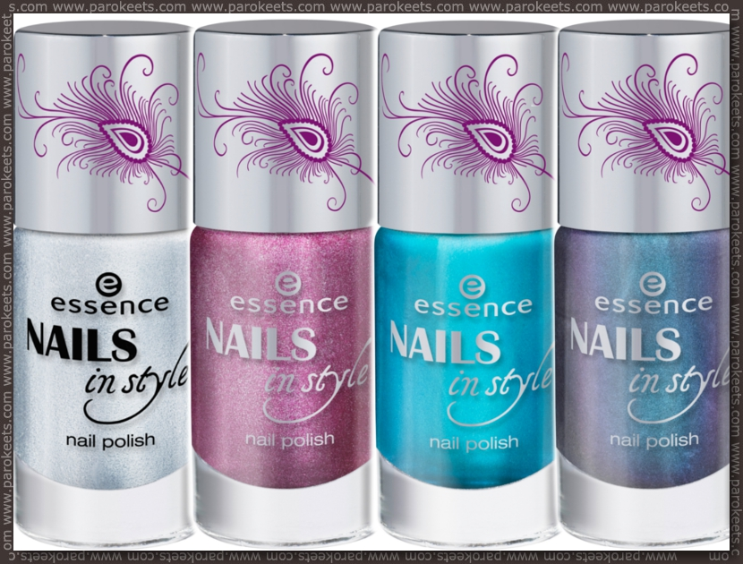 Essence Nails In Style TE preview nail polishes