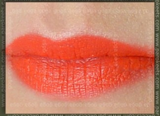 FOTD_by_Goga_MAC_Lipstick_Neon_Orange