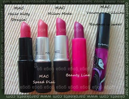 Lipsticks Lipglass MAC BeautyLine