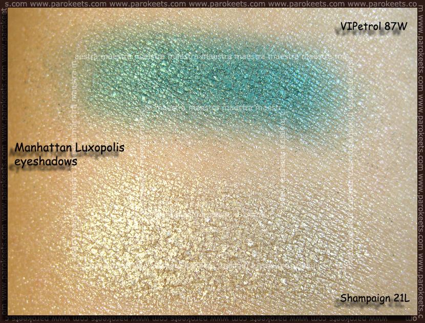 Swatch: Manhattan Luxopolis LE: VIPetrol 87W, Shampaign 21L