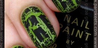 Manhattan Hands Up LE Lime It! + Barry M Black Magic