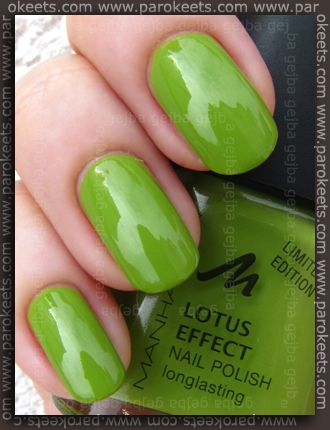 Manhattan Hands Up LE - Lime It! swatch by Parokeets