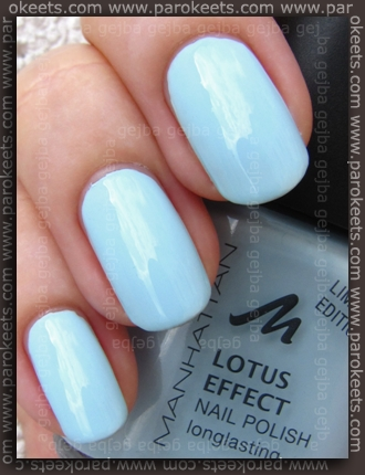 Manhattan Hands Up LE - Oh Heaven swatch by Parokeets