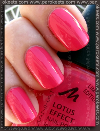 Manhattan Hands Up LE - SOHO-Hot swatch by Parokeets