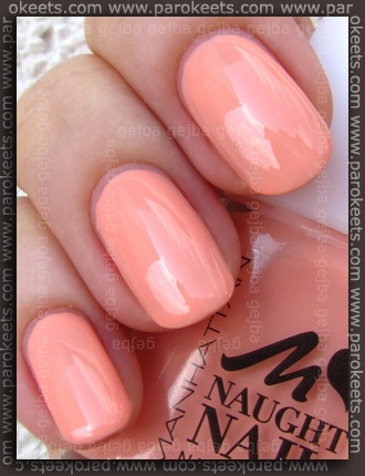 Manhattan Naughty Nails LE 31L swatch by Parokeets