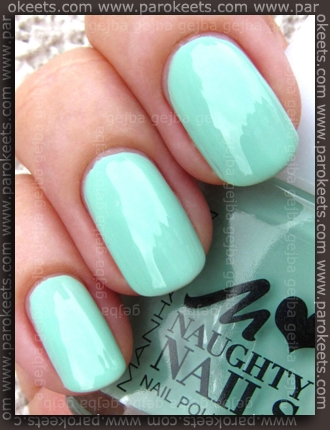 Manhattan Naughty Nails LE 81T swatch by Parokeets