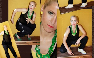 OOTD: Green and Yellow (Maestra)