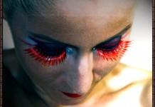 Sadistic Deamon make-up by Maestra (Illamasqua - Sadist, Daemon)
