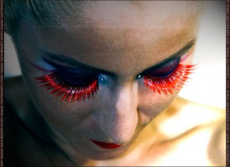 Sadistic Deamon make-up by Maestra (Illamasqua - Sadist, Daemon)