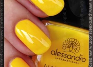Alessandro - Sunshine Reggae (165) swatch by Parokeets