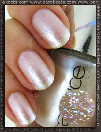 Catrice Out Of Space LE - My Milky Way swatch by Parokeets