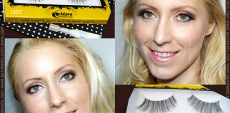 Make up and review: Eldora handmade eyelashes: C107, H103
