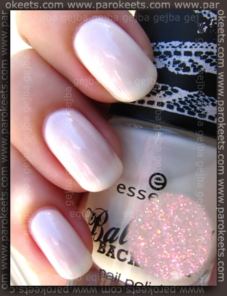Essence Ballerina Backstage LE - Dance The Swan Lake swatch