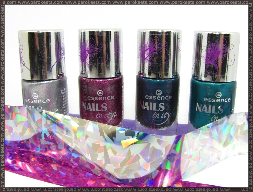 Review and swatches: Essence Nails In Style TE