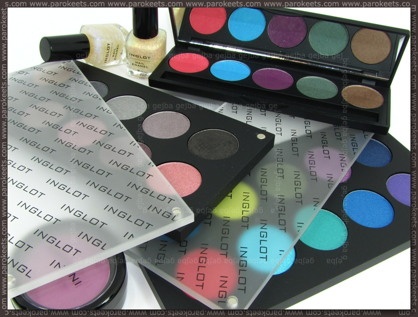 Inglot goodies from Poland