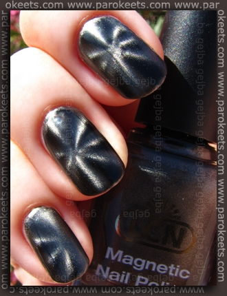LCN Magnetic - Iron Magic swatch by Parokeets