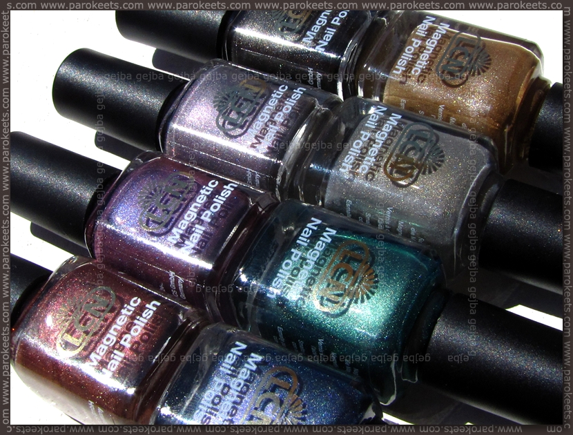 LCN Magnetic nail polishes