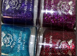 Ruby Kisses - All Purpled Out, Ruby Slippers, Baby Blue, Crazy Night Out by Parokeets