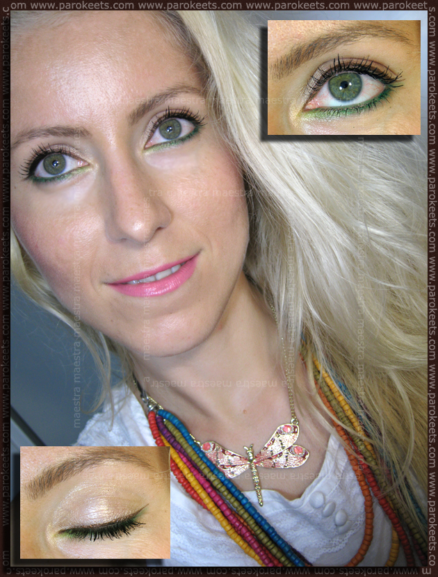 Summer make up look by Maestra