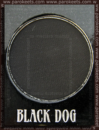 Urban Decay - The Black Palette: Black Dog