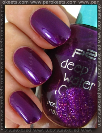 p2 Deep Water Love LE - Purple Sky swatch by Parokeets