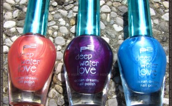 p2 Deep Water Love LE nail polishes
