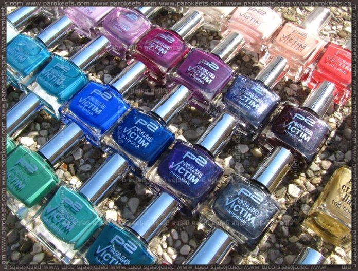 p2 nail polish stash by Parokeets