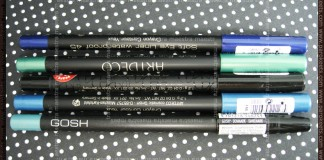 Artdeco - Soft Eye Liner waterproof: 21, 23, 45, 10 and Gosh - Cool Mint