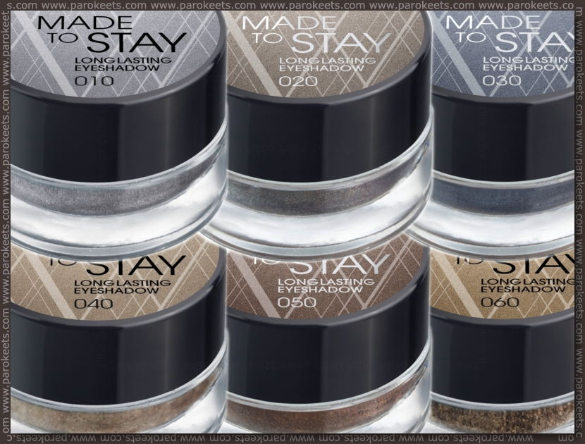 Catrice: Made To Stay Longlasting Eyeshadow promo