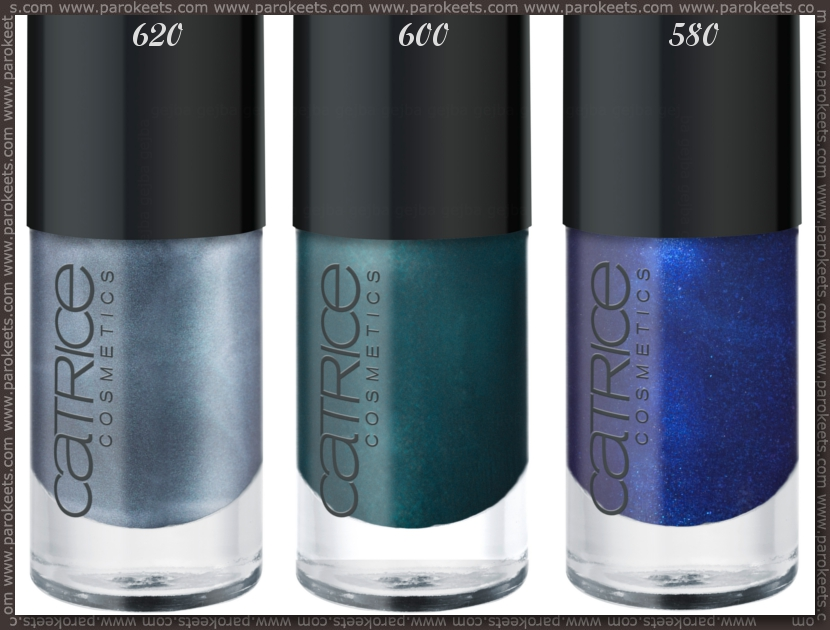 Catrice: Ultimate Nail Lacquer 620, 600, 580 promo