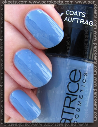 Catrice - Up In The Air swatch by Parokeets