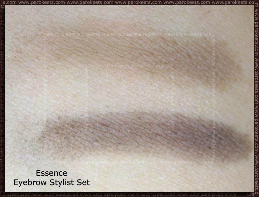 Swatch: Essence Eyebrow Stylist Set