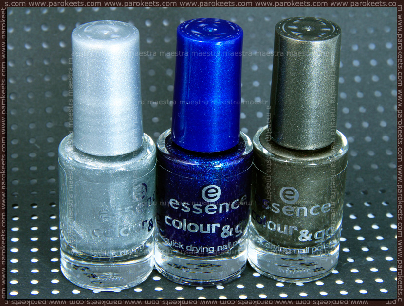 Essence - I Love TE Colour&Go: 76 - Hard To Resist, 80 - Icy Princess, 83 - Luxury Secret