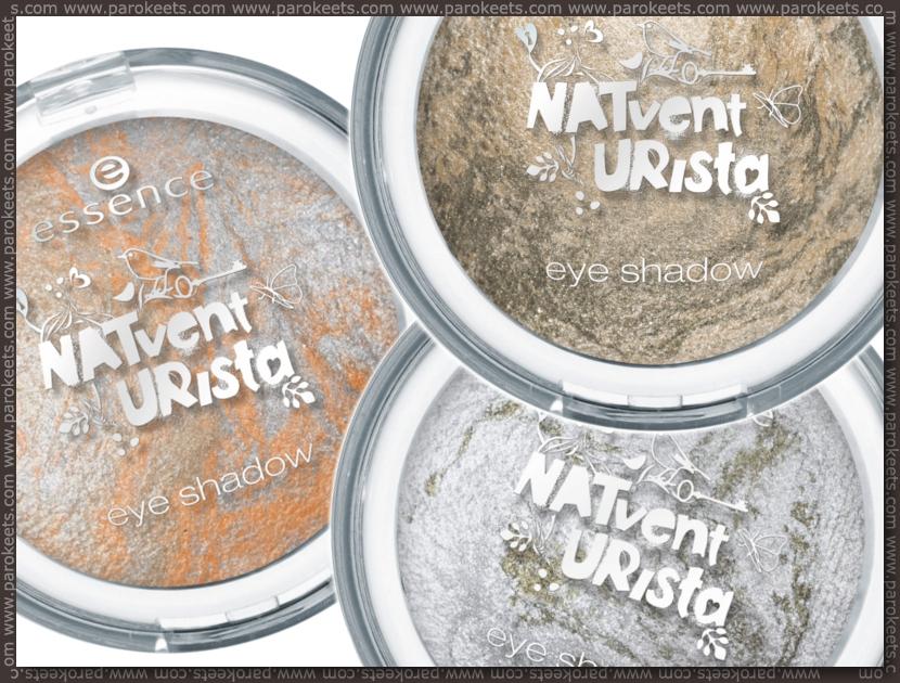 Preview: Essence Natventurista baked eyeshadows by Parokeets