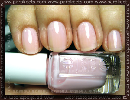 Swatch: Essie - The Wedding Collection 2011: Better Together