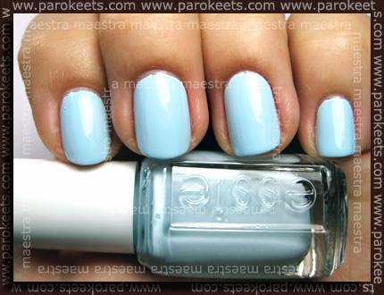 Swatch: Essie - The Wedding Collection 2011: Borrowed & Blue