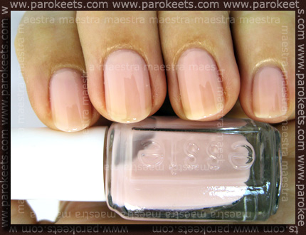 Swatch: Essie - The Wedding Collection 2011: Made To Honor
