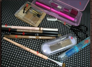 Maestra's eyebrow products