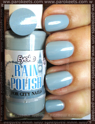Swatch: Eyeko - Rain Polish for City Nails